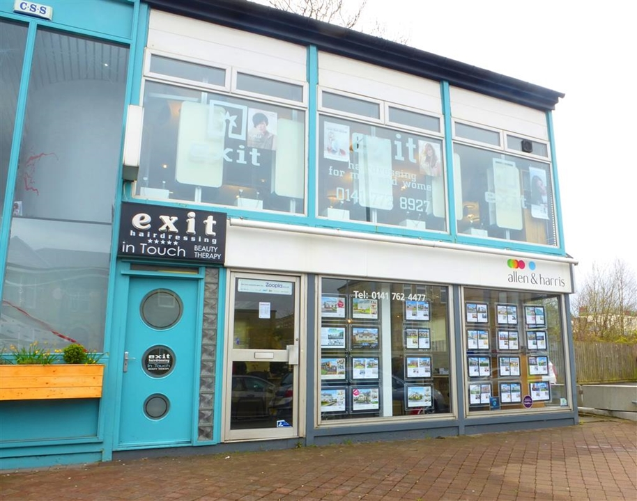 Allen & Harris Estate Agents Bishopbriggs with properties for sale in Bishopbriggs, Robroyston and surrounding areas