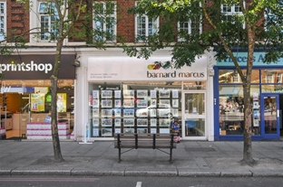 Barnard Marcus Estate Agents in East Sheen, refurbished in 2016.