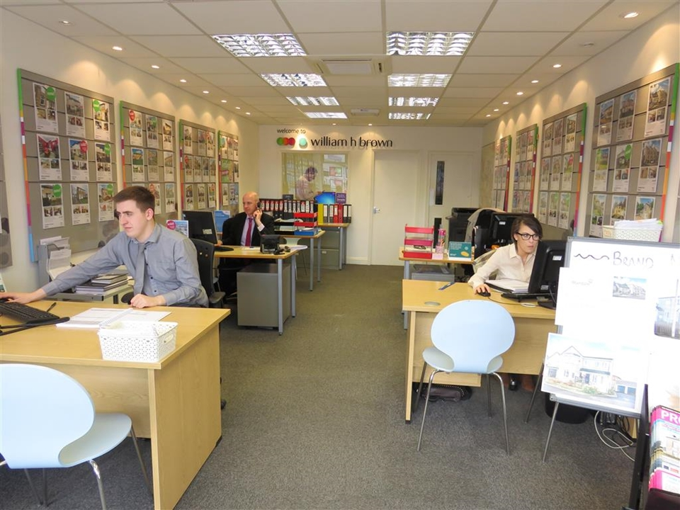 Inside our Shipley Branch at Market Square.