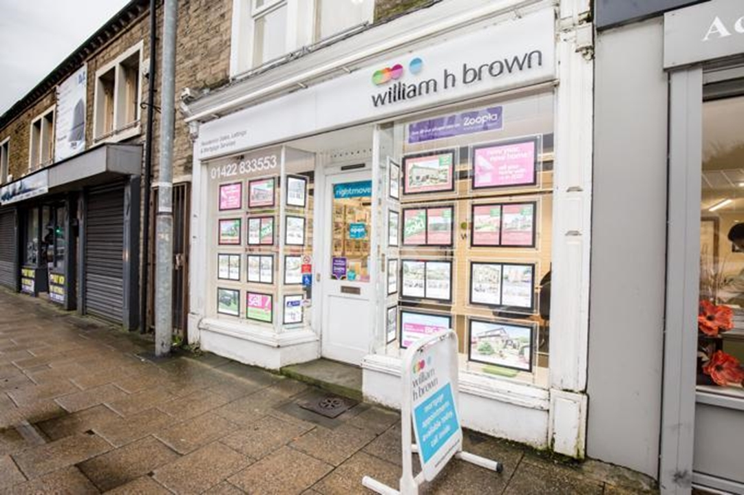 William H Brown Estate agents in Sowerby Bridge. We can help with residential sales, valuations, auctions, land, new homes and part exchanges.