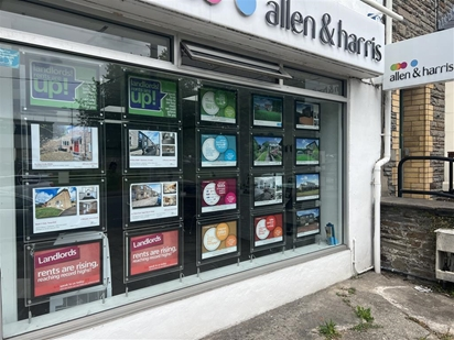 Allen & Harris Estate Agents is situated in Talbot Green. We offer a bespoke service and take pride in looking after all our customers