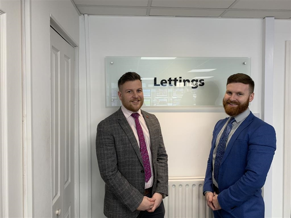 Ben and James offer a professional letting service in our Talbot Green branch