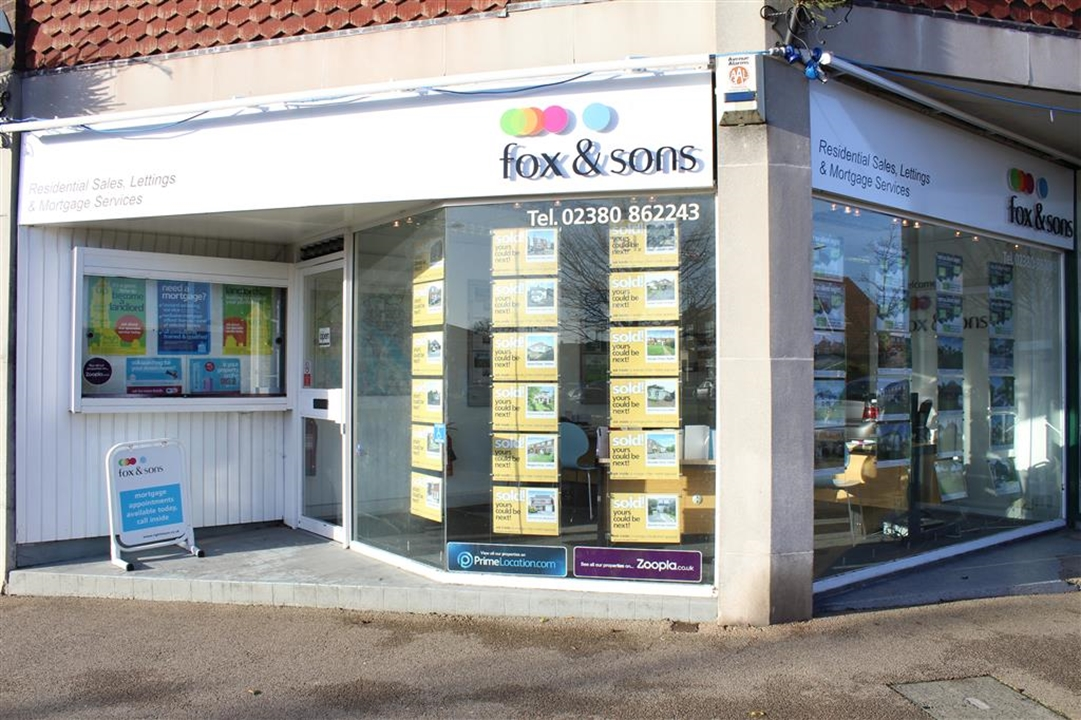 Fox & Sons estate agents in Totton - offering local home buyers and sellers advice on sales, lettings, mortgages and much more in SO40 and SO45
