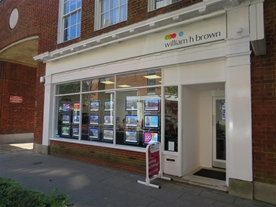 The William H Brown Estate Agents office in Welwyn Garden City Town Centre. Located nearby to Café Nero, Post Office, John Lewis & the Train Station.