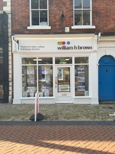 William H Brown Estate agents in Worksop