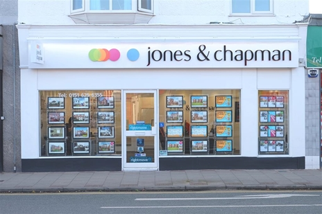 Jones and Chapman West Kirby would love to sell or let your property and help you with your onward purchase!
