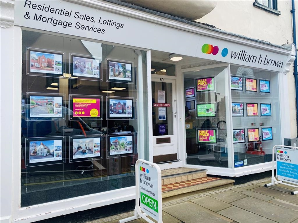 William H Brown Estate agents in Ware town centre, we offer help with the process of buying, letting and renting.