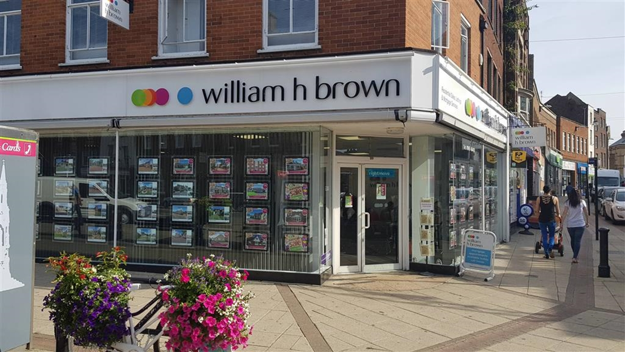 """William H Brown are situated in a prime location in the High Street and we have all the property services you need in our """"one stop shop""""."""