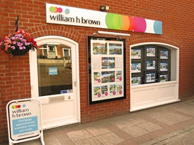 Our William H Brown Estate Agents office in Reepham town centre