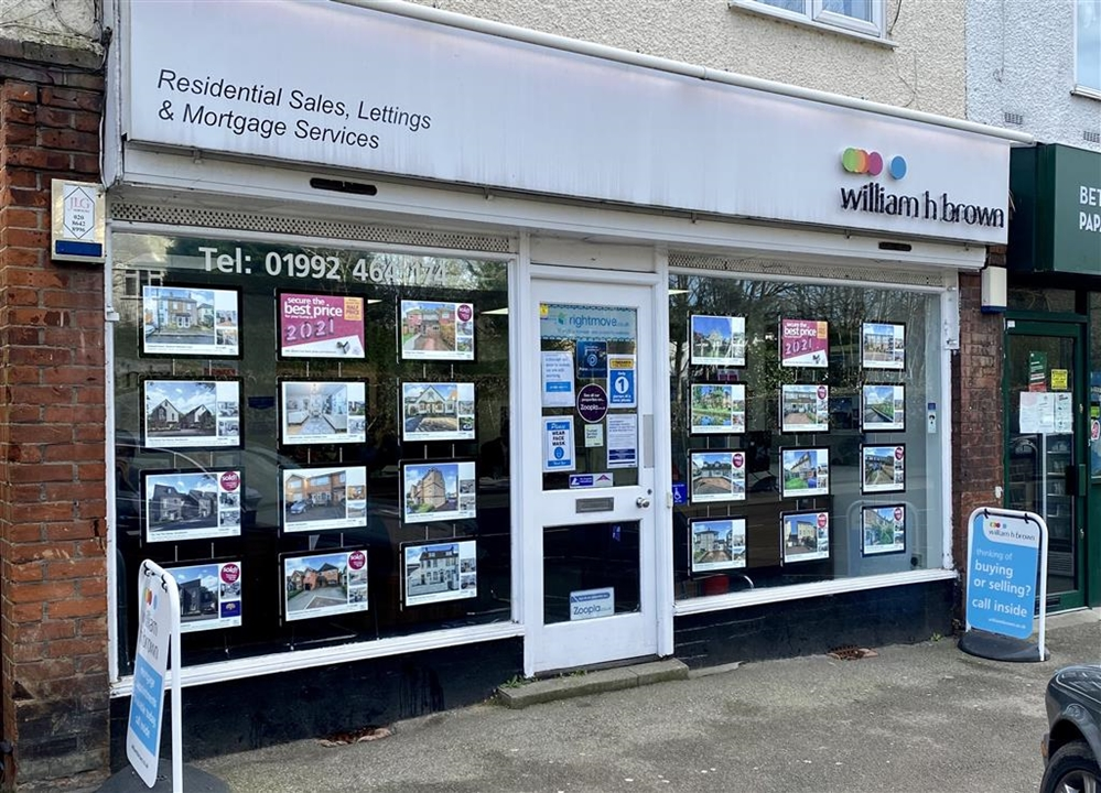 William H Brown Estate agents in Broxbourne