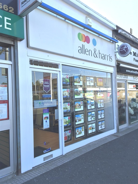 Allen & Harris Estate agents in Burnside, Glasgow