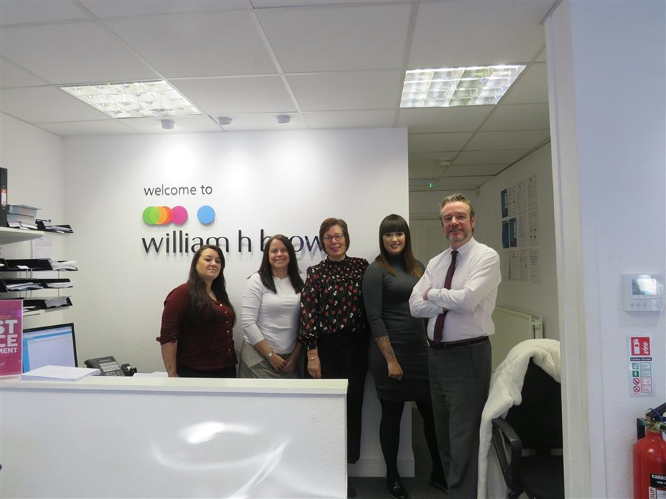 Meet our Bulwell Team! Georgia Phoenix, Charlotte Cheshire, Mandy Spence & Jason Swift (Branch Manager)