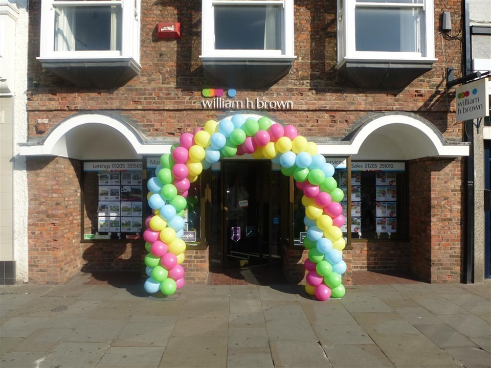 Our prominent Boston town centre location and eye catching LED window displays are perfect for showcasing your property day and night.