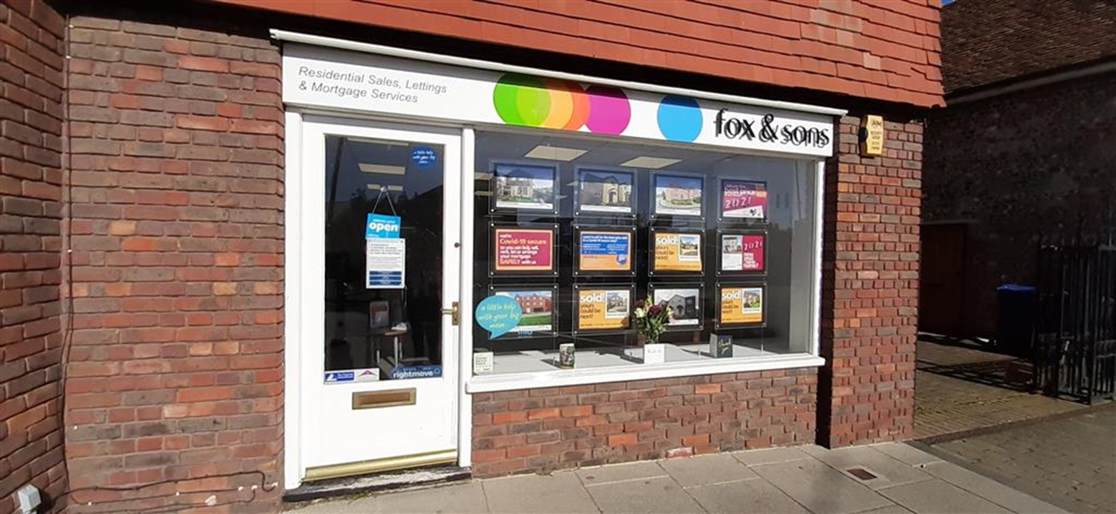 Visit Fox & Sons Estate Agents in Amesbury. We make it easier to buy or sell your home with free valuations and in house mortgages and conveyancing!