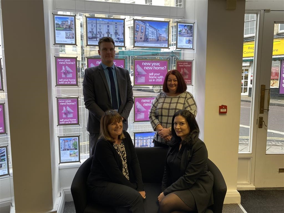 Our dedicated residential lettings team at Allen & Harris Estate Agents in Clifton, Bristol.