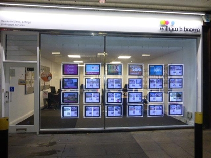 William H Brown Estate agents in Corby