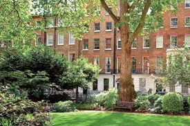 Montagu Square, Marylebone, London, W1h