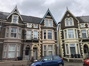 Connaught Road, Roath, Cardiff