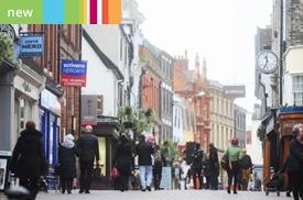 Abbeygate Street, Bury St Edmunds, Suffolk