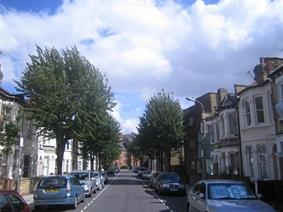 Byam Street, London,